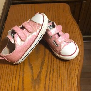 Pink Sparkle Converse!